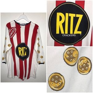Vintage Ritz Cracker Nabisco T-Shirt Oversized L